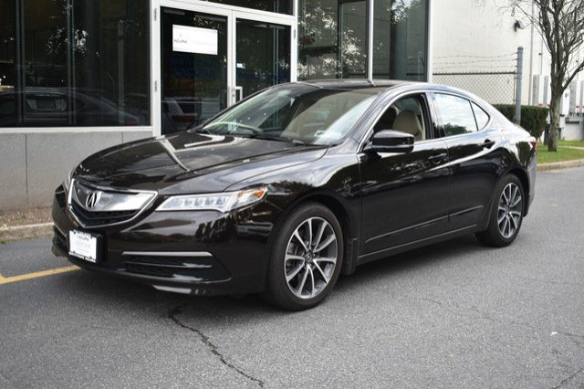 certified pre owned 2015 acura tlx 3 5 v 6 9 at p aws with technology package 4dr car in st. Black Bedroom Furniture Sets. Home Design Ideas